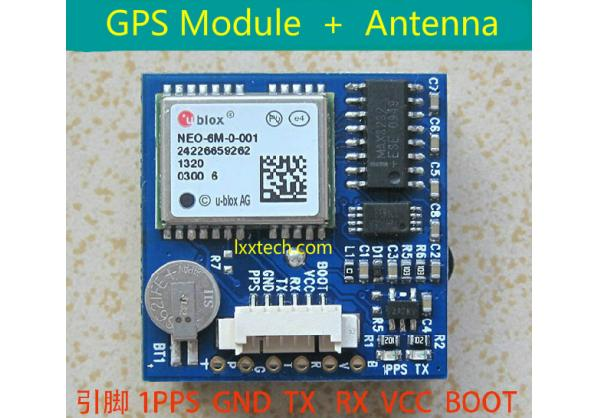 Ublox NEO-6M GPS Module with Antenna for Flight Control and Aircraft