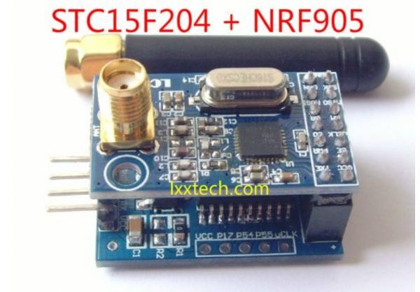 Stc15f204 Nrf905 Wireless Serial Module Wireless Pass