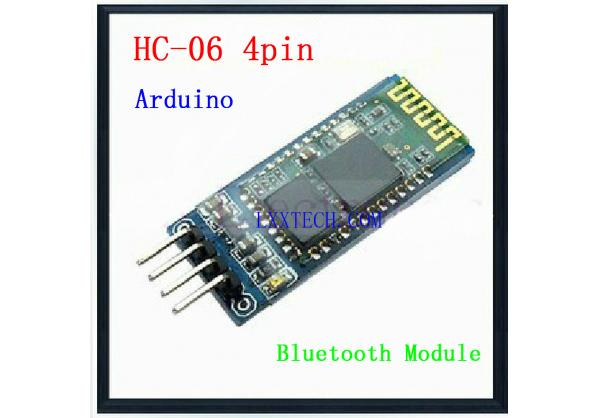 HC-06 Wireless Serial 4 Pin Bluetooth RF Transceiver Module RS232 TTL for Arduino HC06 Bluetooth Mod