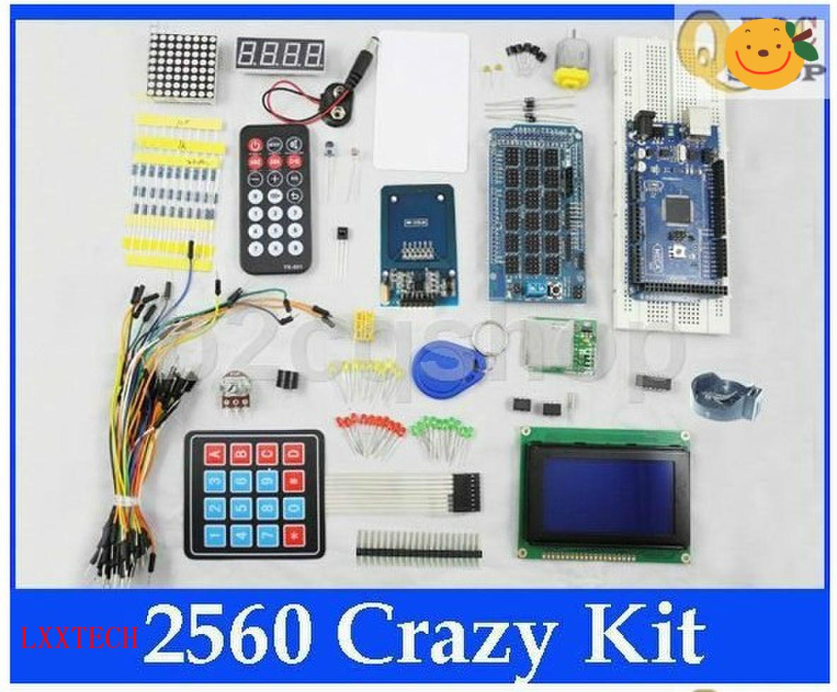 components kit electronic project starter kit mega 2560. Black Bedroom Furniture Sets. Home Design Ideas
