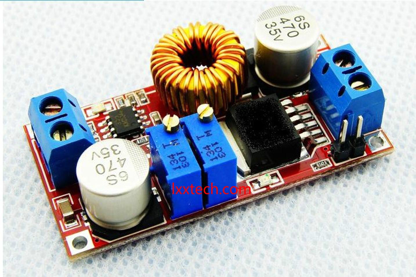 Схема dc-dc модуль 0.8-30 в до 5-32